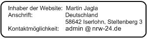 Kontakt zum Webmaster vom Metalltechnik Lexikon